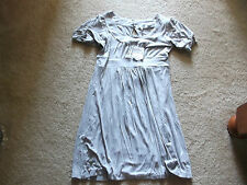 VERTICAL CLUB GRAY DRESS SIZE LARGE NWT