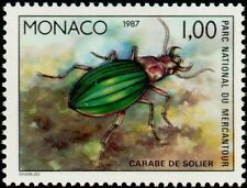 """MONACO N° 1567 """"FAUNE, INSECTES, CARABE DE SOLIER"""" xxTTB"""
