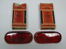 40 Chevrolet Master 85 Deluxe Special Deluxe Tail Light Lenses Pair NORS T333