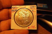 1897 S MORGAN DOLLAR .............. FREE SHIPPING