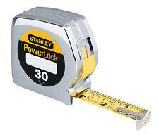 NUOVO Stanley Powerlock nastro regola 1 interno. W X 9.1M M L metallo CHIUDIBILE