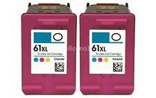 2pk #61XL Color Ink for HP ENVY 4500 4501 4502 4503 4504 4505 5530 5531 5535