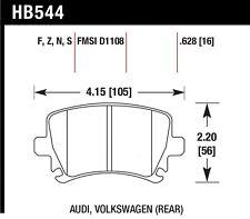 HB544N.628 Hawk 06 fits Audi A6 Quattro Avant / 06-09 A6 Quattro  Hp+ Rear Brake