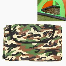 Camouflage Rug Camping Picnic Dampproof Outdoor Camping Sleeping Mat Blanket