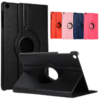 """Case For 2019 Samsung Galaxy Tab A 10.1"""" SM-T510 T515 Leather 360° Stand Cover"""