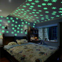 The In Room Moon Dark Stickers Glow Luminous Wall Star Kids Decor StarPVC
