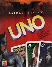 Batman Begins UNO Card Game - COMPLETE but Instructions Reprinted