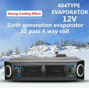 12V Car Truck A/C KIT Underdash Evaporator Compressor Air Conditioner 3 Speed