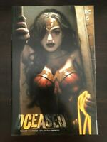 Dceased #5 Brown variant Cover DC 2019 NM 9.4 Unread Wonder Woman