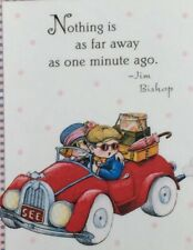 Mary Engelbreit Handmade Magnets-Nothing Is As Far Away As One Minute Ago
