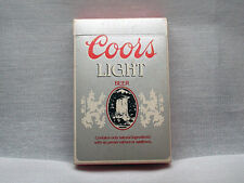 Coors Light, Vintage Playing Cards, Full Deck, Used, Excellent Condition, 1990s