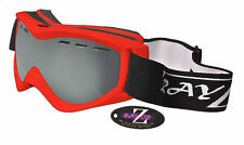 2018 RAYZOR RED SKI SNOWBOARD GOGGLE VENTED UV400 ANTI FOG DOUBLE LENS RRP£69