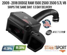 """S&B COLD AIR INTAKE """"2009-2018"""" DODGE RAM 5.7L HEMI 1500 2500 3500 75-5106 - NEW"""