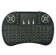 Mini Wireless Keyboard Touchpad Backlit PC Windows Linux Android TV Raspberry Pi