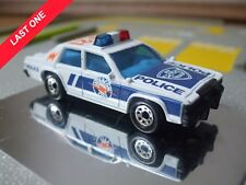 MATCHBOX FORD LTD CROWN VICTORIA POLICE INTERCOM CITY TOY MODEL CAR TALK BARCODE