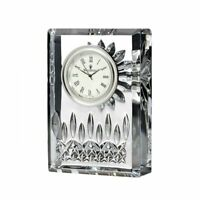 """Waterford Lismore Clock 4"""" inch New # 107752"""