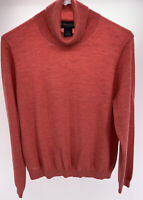 BROOKS BROTHERS Women's Merino Wool Cashmere Silk Blend High Neck Sweater Sz XL