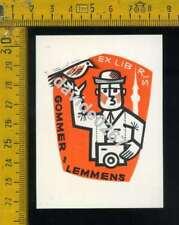Ex Libris b 032 Gommer Lemmens Piet Janssens