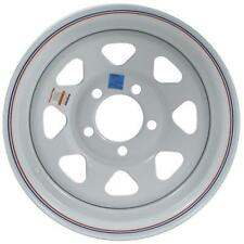"American Tire 14"" Wheel 5 Hole/White 14X6 20352"