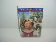 Heidi Shirley Temple VHS Video Tape Movie Clamshell