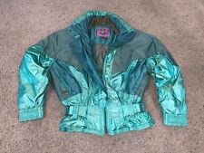 Women's Nevica Skiwear Vivage Green Zip Up Coat / Jacket Size 8