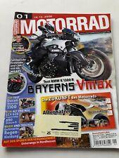MOTORRAD Zeitschrift 1/2008 BMW K 1300 R Ducati Monster 1000 KTM LC 4 620