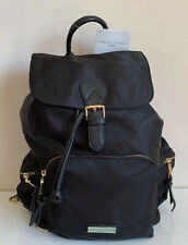 NEW! ADRIENNE VITTADINI STUDIO BLACK LARGE TRAVEL BACKPACK BAG PURSE $190 SALE