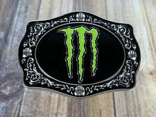 Monster Energy Belt Buckle Bull Riding Promo RARE!!!