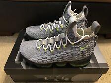 online store 18684 d75e6 Nike LeBron XV 15 KSA Air Max 95 Men s sz 8 Cool Grey Volt AR4831 001