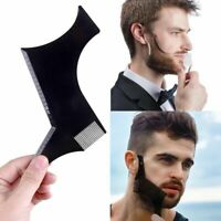 Beard Styling Shaping Template Comb Barber Tool Symmetry Line Up Trimming Nic +