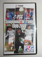 RARE K7 VIDEO VHS CHAMPIONNAT DE FRANCE 1999 - 2000 // PSG - PARIS SAINT GERMAIN