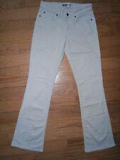 EUC Womens Levis Signature Modern Boot Cut Jeans 10Lx33 Mid rise Stretch Beige