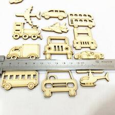 30pcs Transportation Wooden MDF Cardmaking Hanging Ornaments Embellishment Craft