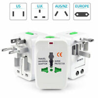 New Universal&US to EU Europe AC Power Plug World Travel Adapter Converter