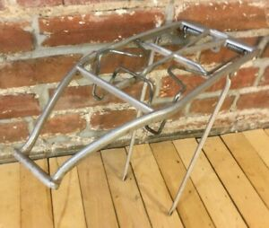 Vintage PLETSCHER Aluminum Bike Rack Switzerland Model C Strong Spring Loaded