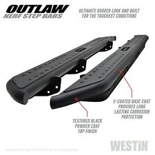 Westin 58-53155 Outlaw Nerf Step Bars Fits 15-20 Canyon Colorado