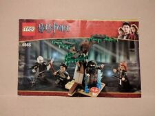 LEGO 4865 HARRY POTTER Instruction Booklet Manual ONLY Forbidden Forest 2011