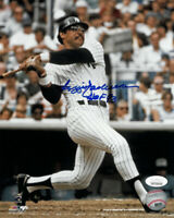 Reggie Jackson signed New York Yankees 8x10 Photo HOF 93- JSA Witnessed Holo