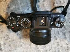 Fujifilm X series X-T1 16.3MP Digital SLR Camera - see description.