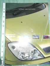 Renault Scenic Collections range brochure Jun 2001