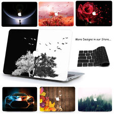 "3IN1 SET-Laptop Case Cover For Apple Mac MacBook Air 11 13"" Pro 13"" 15"" 12"" ZR"