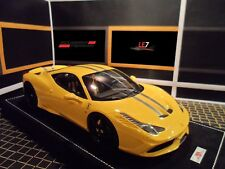 MR FERRARI 458 SPECIALE 1:18 Yelllow