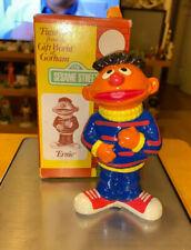 """Vintage 1976 5"""" ERNIE GORHAM FIGURINE Sesame Street Toy Figurines MIB NOS MUPPET"""