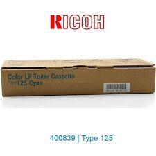 TONER RICOH CIAN · AFICIO CL2000 CL3100 (400839 TYPE 125) · ORIGINAL | NUEVO