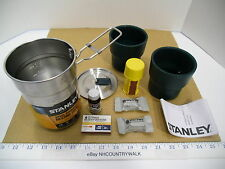 Stanley Steel Cooker & Nesting Cups Adventure Camp Cook Set with Bonus Items NEW