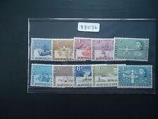 British Antarctic Territory 1963 QE2 (SG 1-10) (10v Part Set) Heavy Mounted Mint