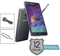 Samsung N910 Galaxy Note 4 32GB 4G LTE, With EE Network, Smartphone All Grades