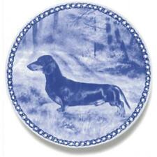 Dachshund - Shorthaired - Dog Plate made in Denmark from the finest European Por