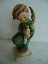 "Hummel Goebel Heavenly Angel"" Boy holding Candle #21/0 W. Germany 1981 Perfect"