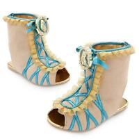 Disney Store Pocahontas Princess Costume Shoes Girls 7/8 9/10 11/12 13/1 2/3 NEW